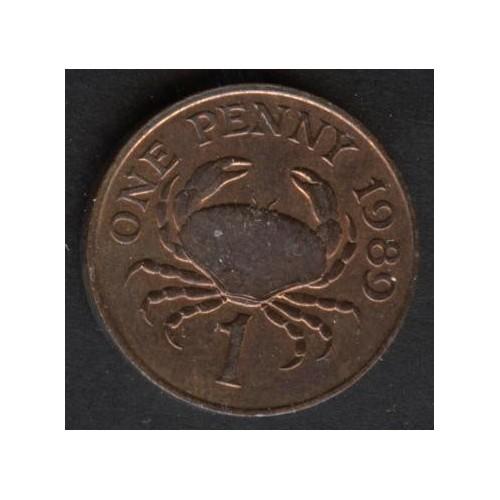 GUERNSEY 1 Penny 1989