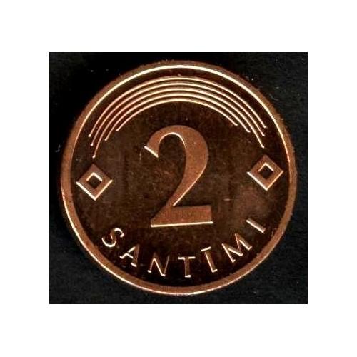 LATVIA 2 Santimi 2006