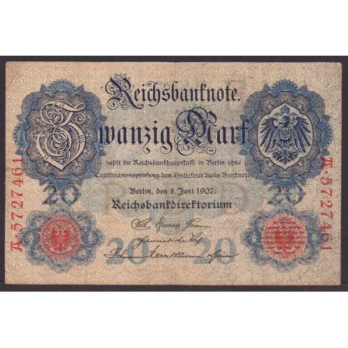 GERMANY 20 Mark 1907