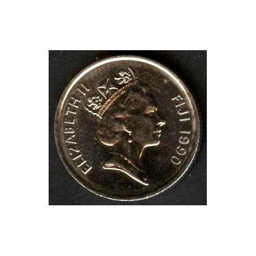 FIJI 5 Cents 1990