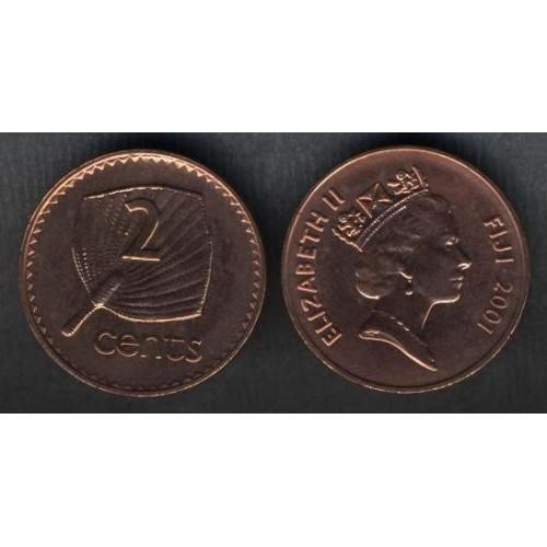 FIJI 2 Cents 2001