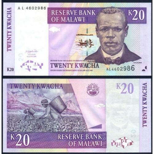 MALAWI 20 Kwacha 2004