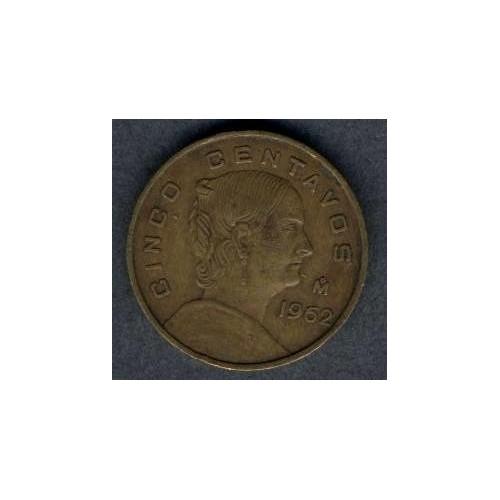 MEXICO 5 Centavos 1962