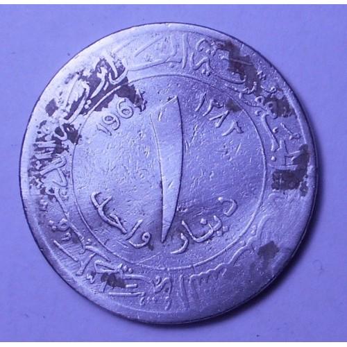 ALGERIA 1 Dinar 1964