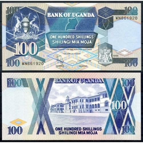 UGANDA 100 Shillings 1998