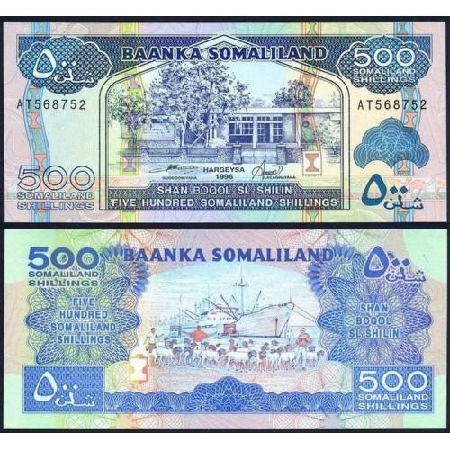 SOMALILAND 500 Shillings 1996