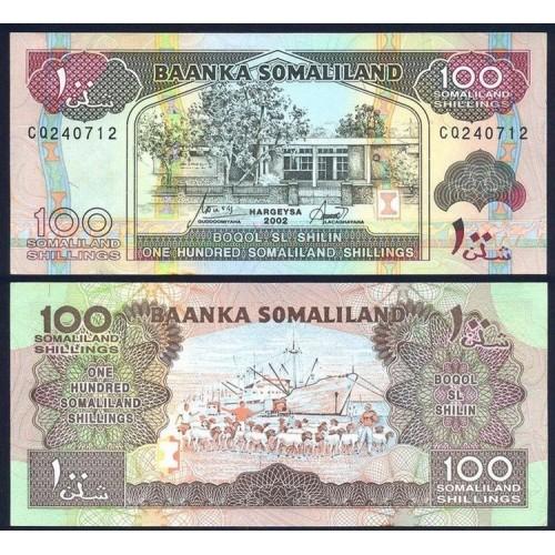 SOMALILAND 100 Shillings 2002