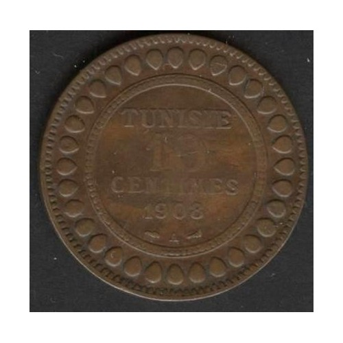 TUNISIA 10 Centimes 1908