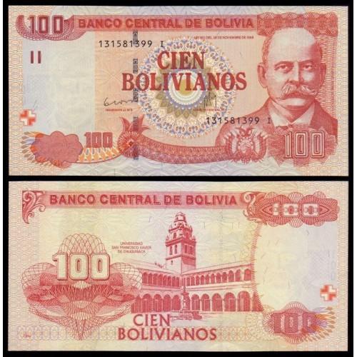 BOLIVIA 100 Bolivianos 2011...