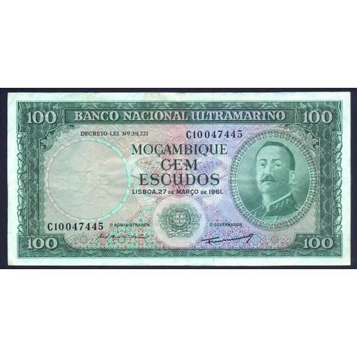 MOZAMBIQUE 100 Escudos 1961