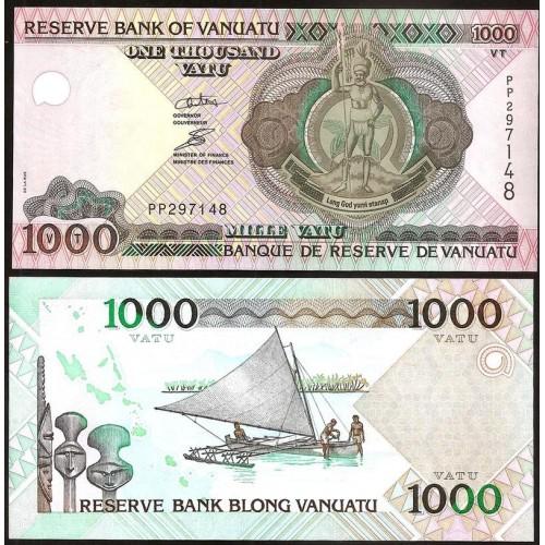 VANUATU 1000 Vatu 2002