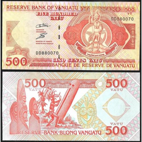 VANUATU 500 Vatu 2006