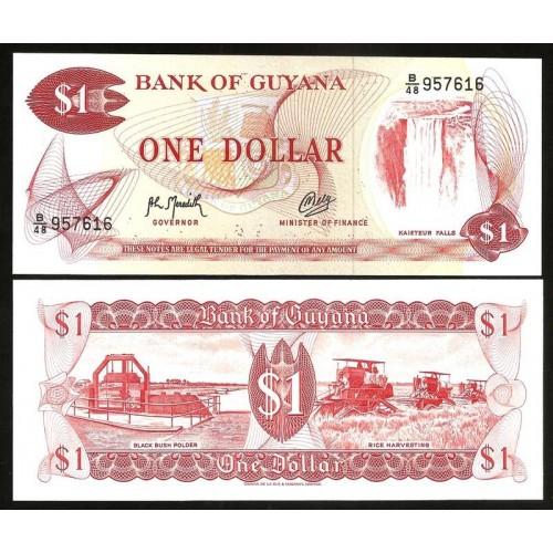 GUYANA 1 Dollar 1992