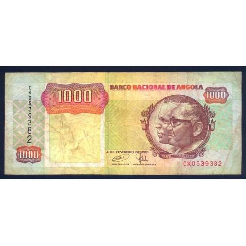 ANGOLA 1000 Kwanzas 1991