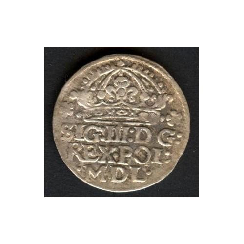 POLAND 1 Groschen 1624...