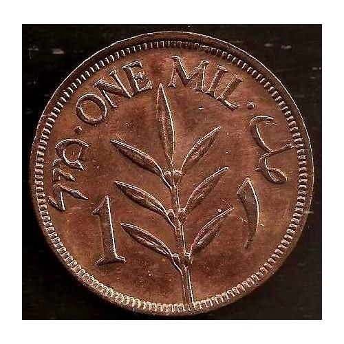 PALESTINE 1 Mil 1927