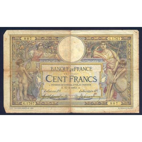 FRANCE 100 Francs 17.03.1913