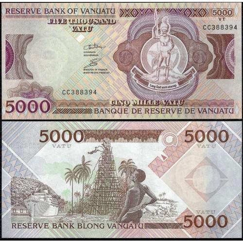 VANUATU 5000 Vatu 2006