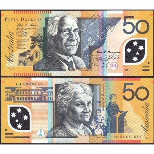 AUSTRALIA 50 Dollars 2009...