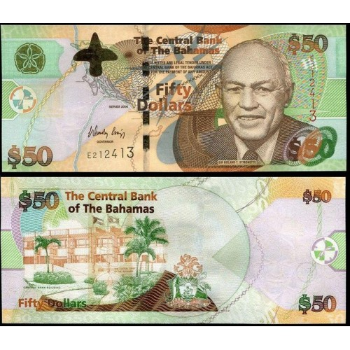 BAHAMAS 50 Dollars 2006