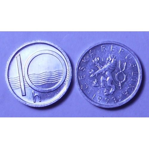CZECH REPUBLIC 10 Haleru 1993