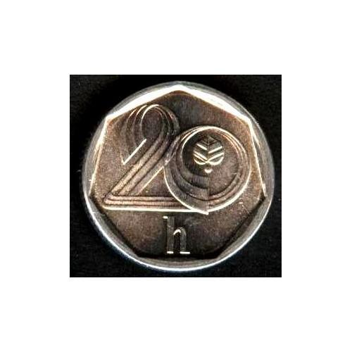 CZECH REPUBLIC 20 Haleru 1996