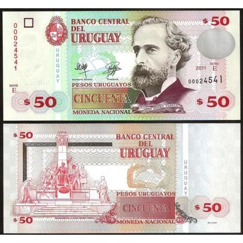 URUGUAY 50 Pesos 2011