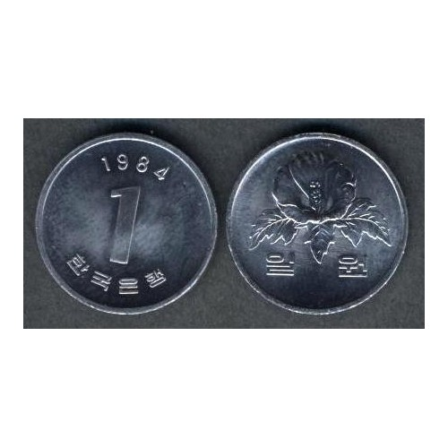 SOUTH KOREA 1 Won 1984