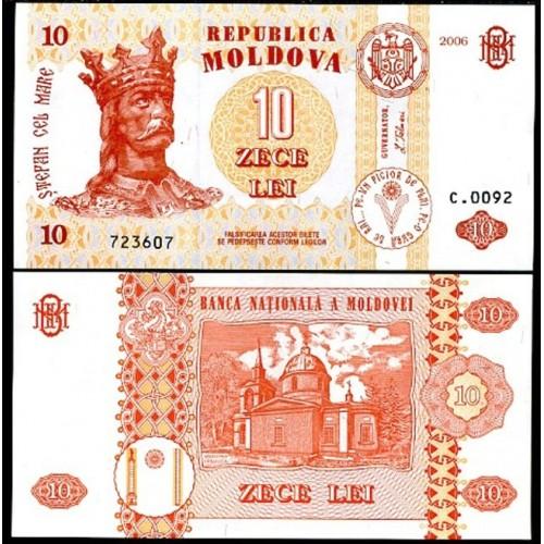 MOLDOVA 10 Lei 2006