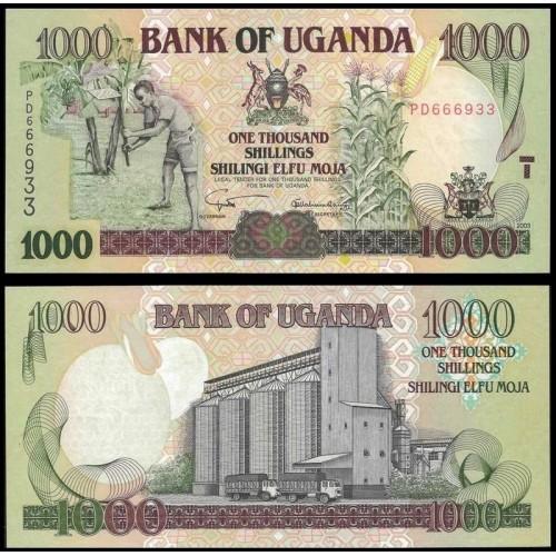 UGANDA 1000 Shillings 2003