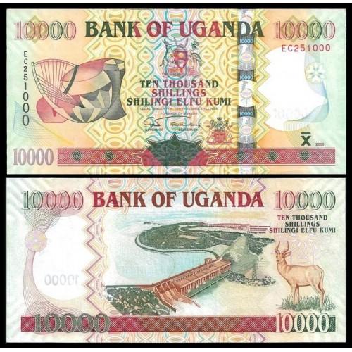 UGANDA 10.000 Shillings 2005