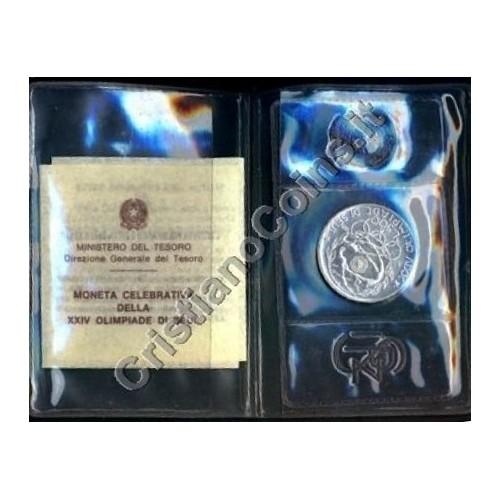 500 Lire 1988 OLIMPIADI DI...