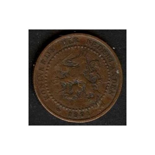 NETHERLANDS 1 Cent 1901