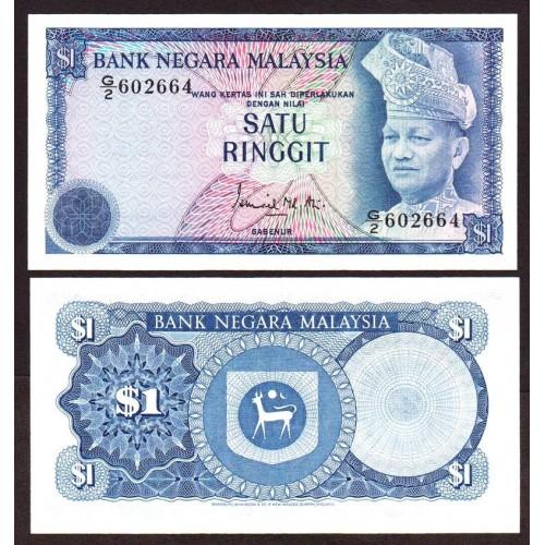 MALAYSIA 1 Ringgit 1976