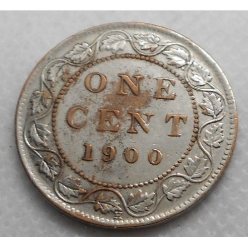 CANADA 1 Cent 1900 H