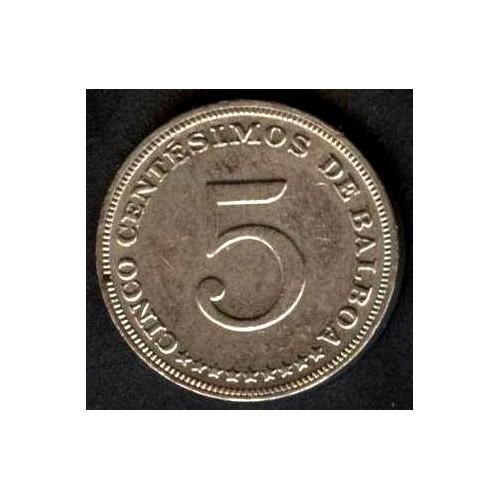 PANAMA 5 Centesimos 1993