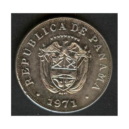 PANAMA 5 Centesimos 1971 Proof