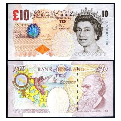 GREAT BRITAIN 10 Pounds 2004