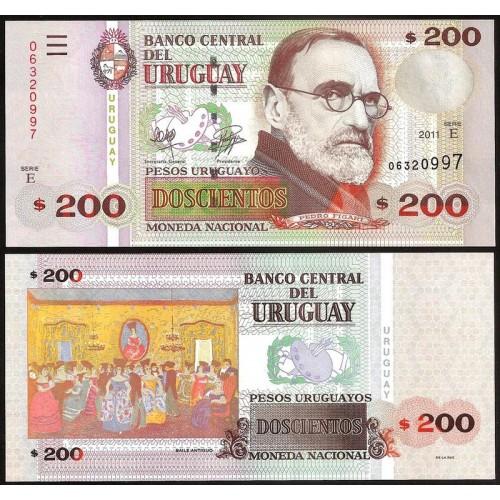 URUGUAY 200 Pesos 2011