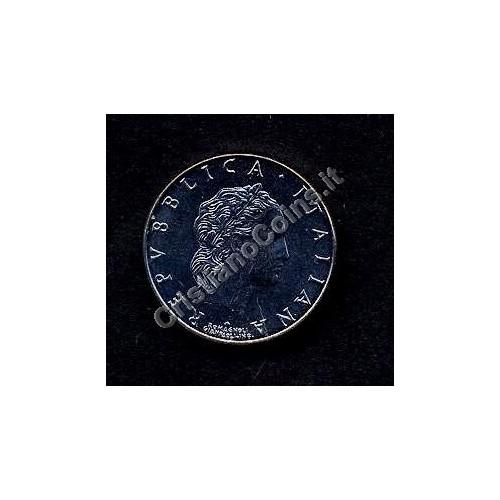 50 LIRE 1991 CON ROMBO