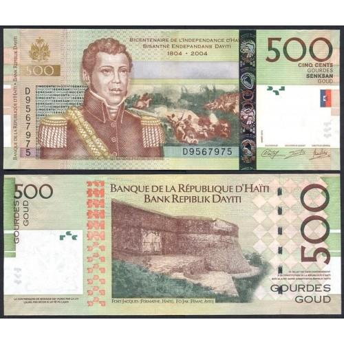 HAITI 500 Gourdes 2014