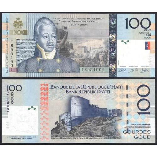 HAITI 100 Gourdes 2014