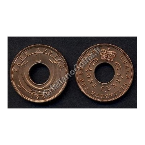 EAST AFRICA 1 Cent 1962 H