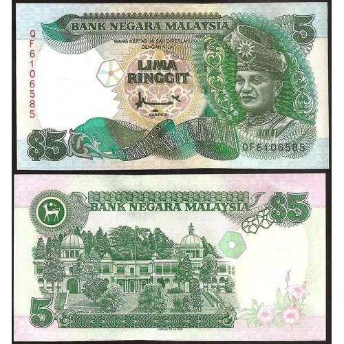 MALAYSIA 5 Ringgit 1995