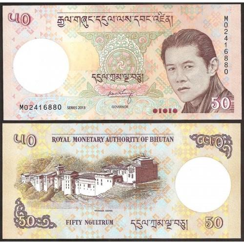 BHUTAN 50 Ngultrum 2013