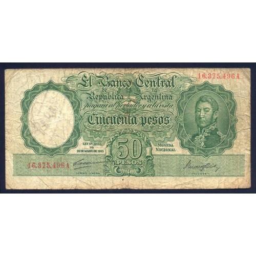ARGENTINA 50 Pesos 1942/54