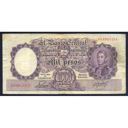 ARGENTINA 1000 Pesos 1944/55