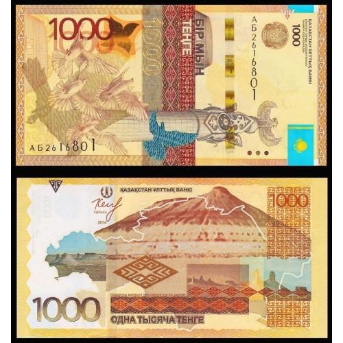 KAZAKHSTAN 1000 Tenge 2014