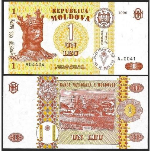 MOLDOVA 1 Leu 1999