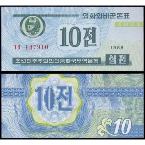 NORTH KOREA 10 Chon 1988